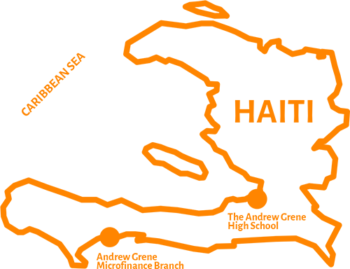 Outline of the country of Haiti