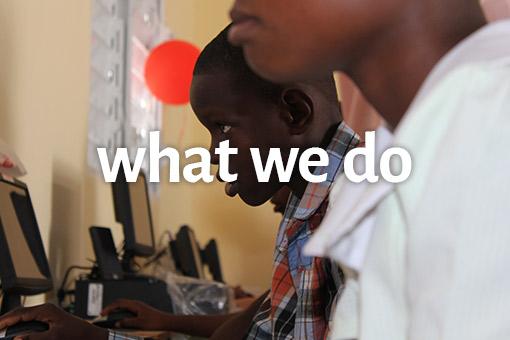 what we do - AGF Haiti