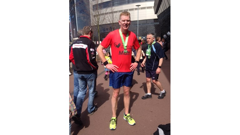 Matt Boswell and the Milton Keynes Half