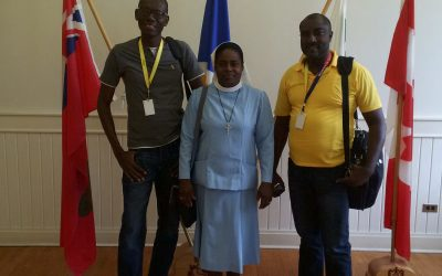 News from Ricot Pierre – Head Teacher at the Andrew Grene High School