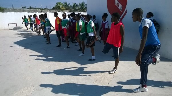 Sports Day At the Andrew Grene Foundation High School