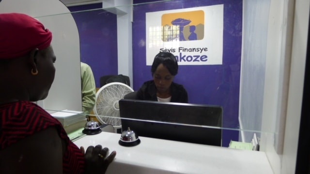 AGF microfinance branch with Fonkoze Microfinance