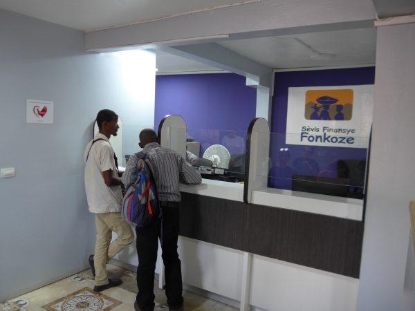 AGF microfinance branch with Fonkoze Microfinance
