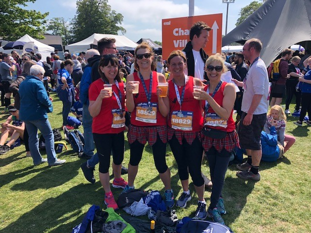Personal Best for our girls in the 2018 Edinburgh Hairy Haggis