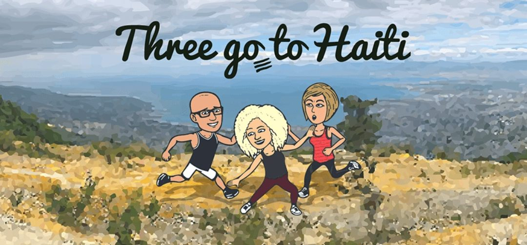 Three going to Haiti