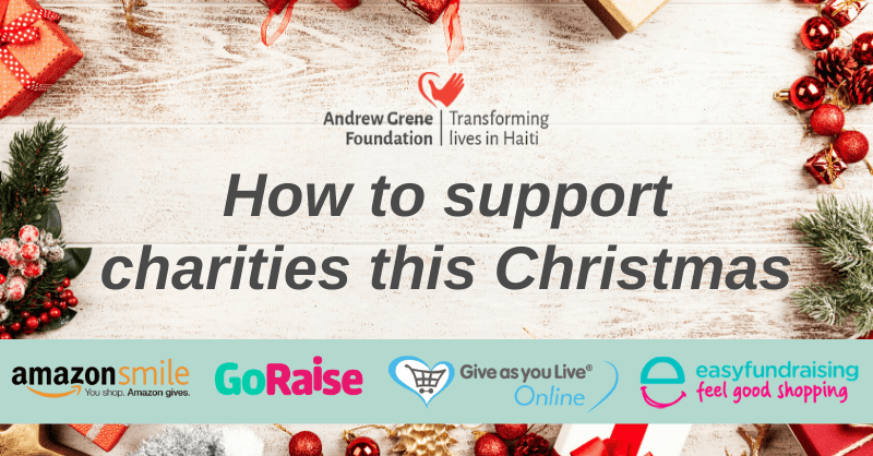 how to support charities at christmas