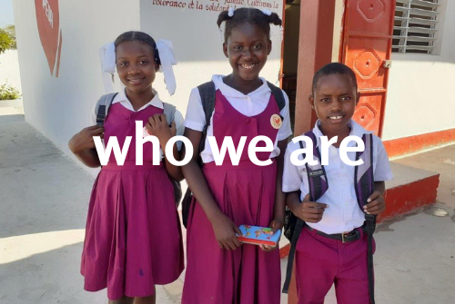 who we are - AGF Haiti